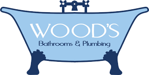 Woods Bathrooms and Plumbing Logo Image